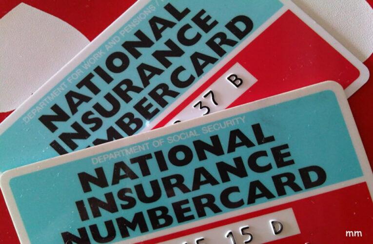 ¿Necesitas el National Insurance Number?