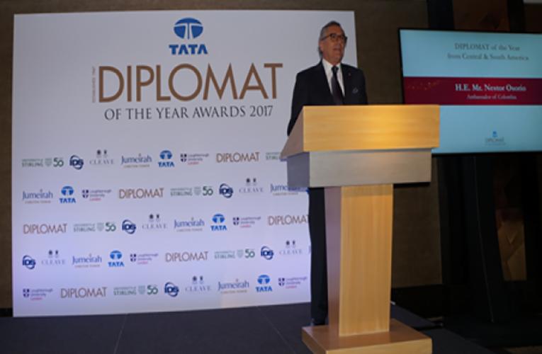 Embajador de Colombia en Londres, Néstor Osorio Londoño, nombrado como Embajador Latinoamericano del año 2017 por Diplomat Magazine