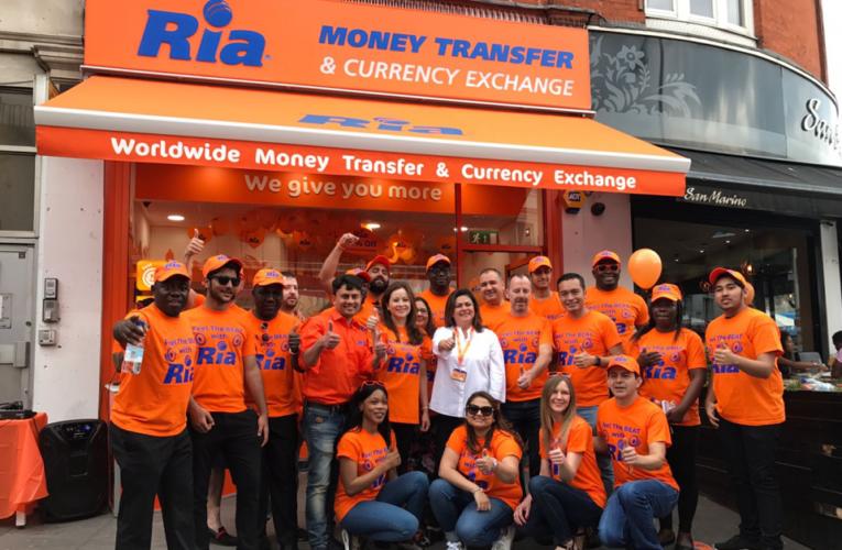Ria inaugura nueva tienda en Brixton