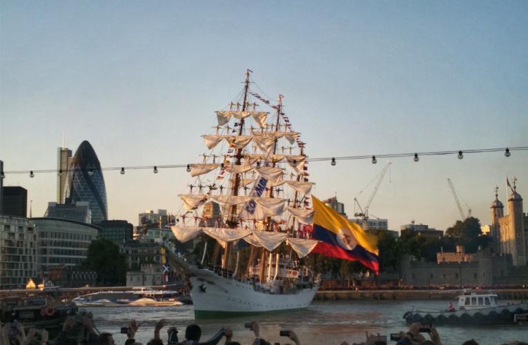 El espectacular día de Colombia en Londres