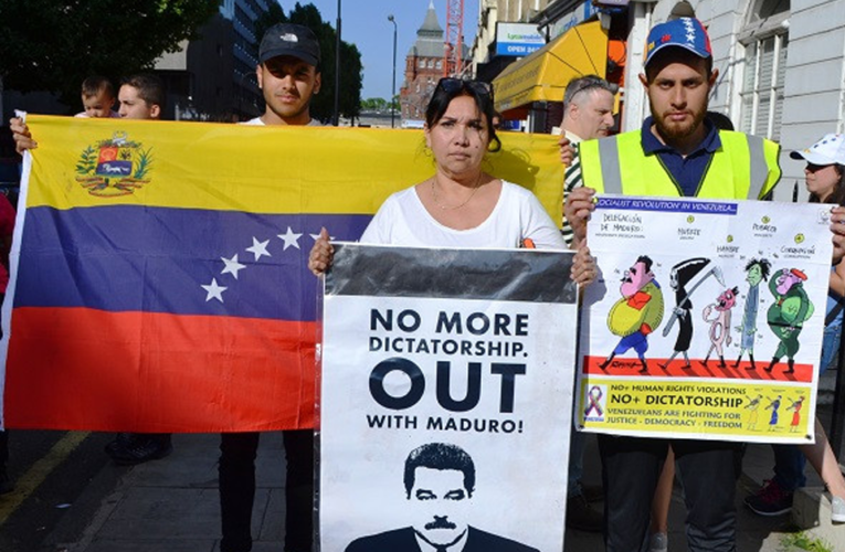 """Mayoría de venezolanos en Reino Unido dijo """"no voto"""""""