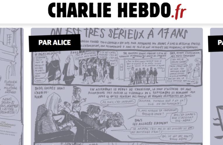 Ataque terrorista en antiguos locales del semanario Charlie Hebdo deja dos heridos
