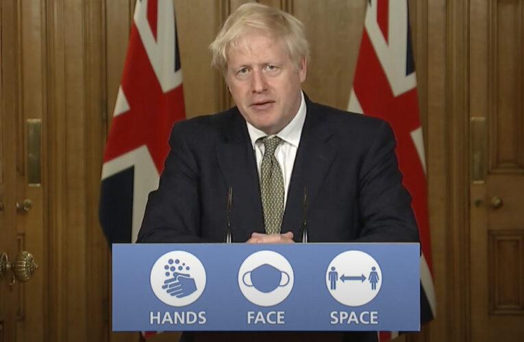 """""""Entramos a una fase crucial de lucha contra el coronavirus"""": Boris Johnson."""