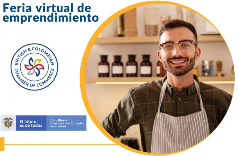 La Cámara de Comercio Británico Colombiana y el Consulado de Colombia en Londres invitan a feria virtual de emprendimiento
