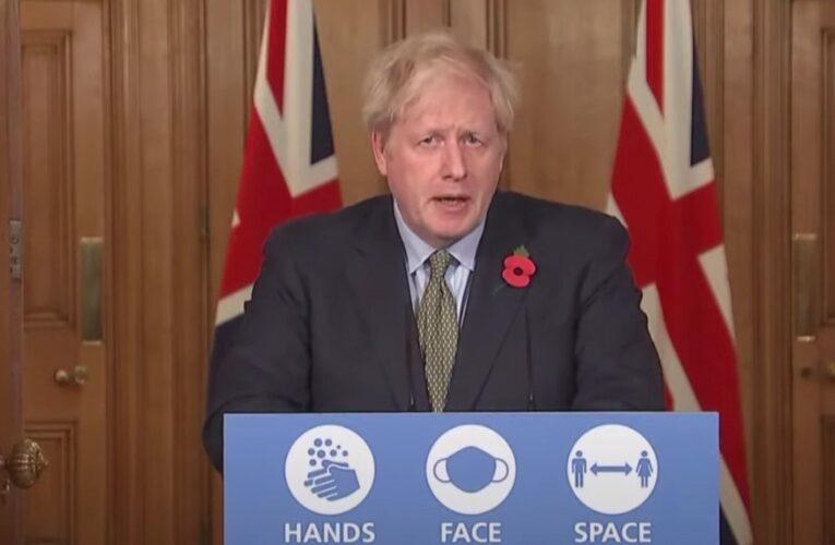 """Boris Johnson: """"Todavía estamos en un momento crítico"""""""
