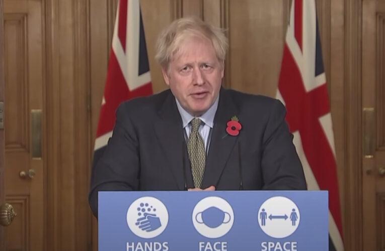 Boris Johnson rechaza presiones para acortar confinamiento en Londres