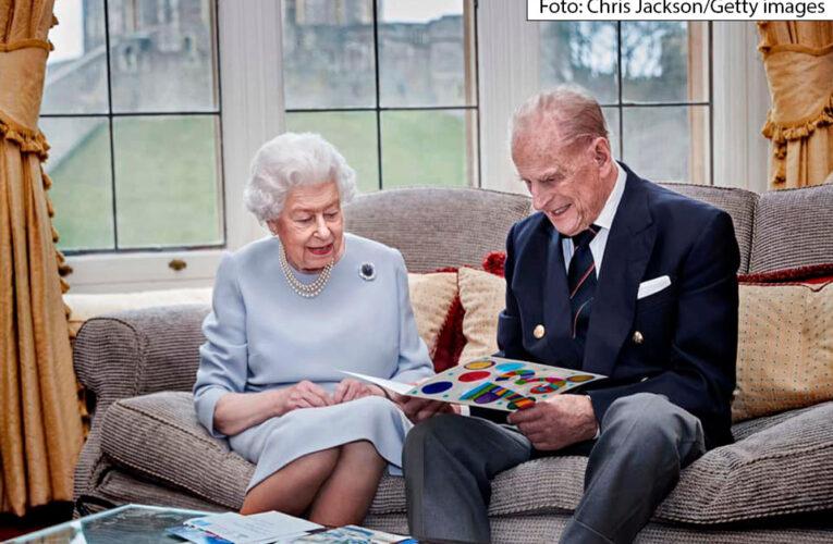 La Reina y el príncipe Felipe celebran su aniversario de bodas número 73 con una nueva foto
