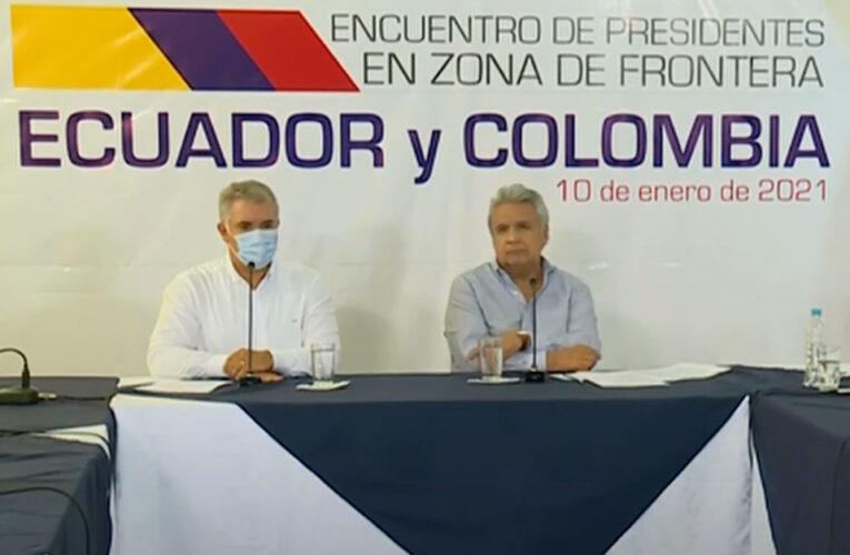 Ecuador y Colombia refuerzan cooperación bilateral y rechazan la situación de Venezuela
