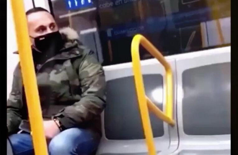 Video con agresión racista se vuelve viral y permite dar con el responsable de los hechos