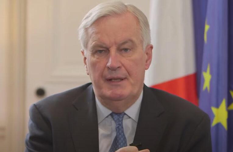Un alto al fuego en la guerra de las vacunas, pidió el ex negociador del Brexit por la Unión Europea, Michel Barnier, al despedirse de su rol