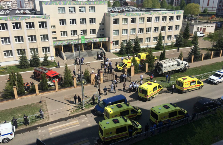 Tiroteo en una escuela de Kazán deja al menos nueve muertos