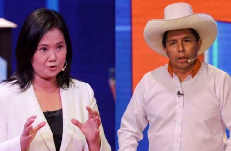 Elecciones en Perú: Keiko Fujimori vs. Pedro Castillo