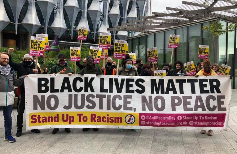 Reino Unido conmemoró el primer aniversario de la muerte de George Floyd