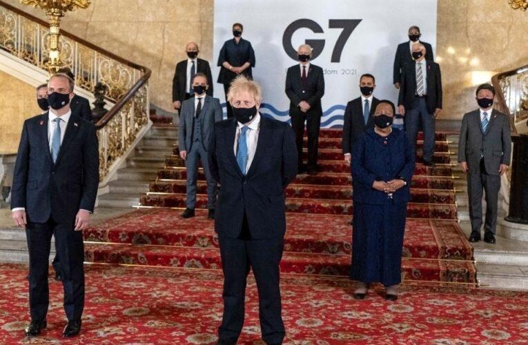 Líderes del G7 hablan de la situación en Afganistán
