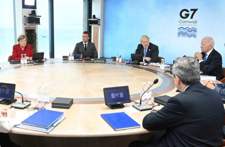 G7 donará mil millones de vacunas contra el Covid