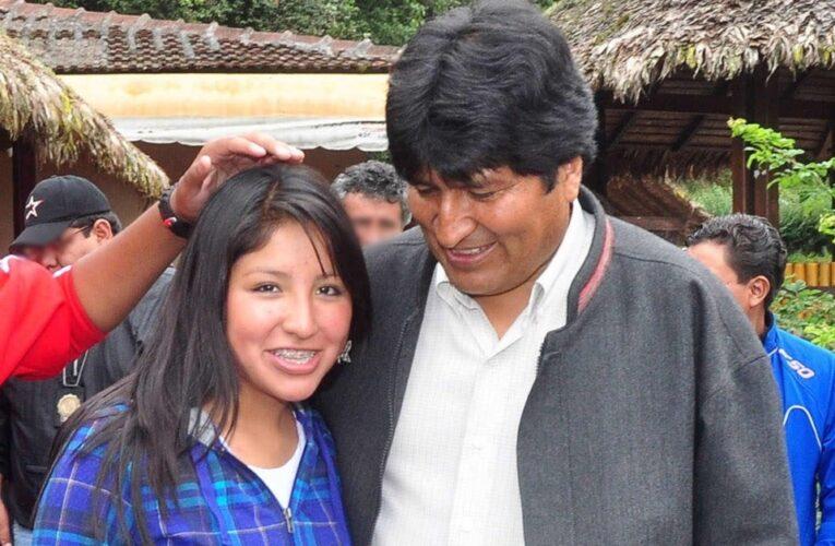 Hija de Evo Morales se vacunó antes de tiempo contra el Covid