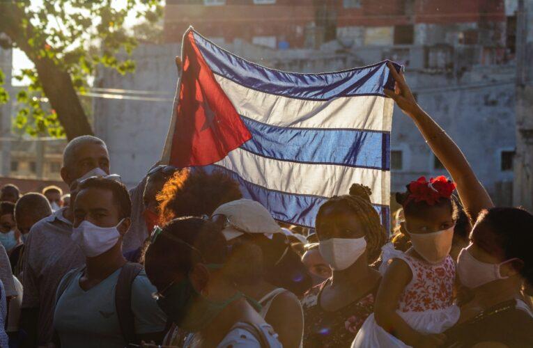 Las protestas en Cuba en la mira mundial