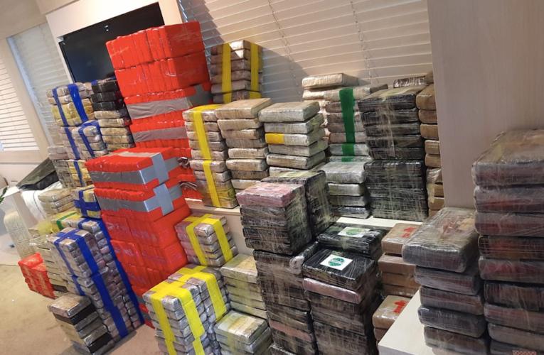 Cinco nicaragüenses y un británico arrestados con cocaína avaluada en £160 millones en la costa de Plymouth